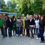 Besuch im Familienzentrum in der Wattstraße