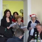 Weihnachtsfeier im Gesundheitszentrum der Jenny De la Torre Stiftung