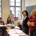 Besuch der Volkshochschule Berlin-Mitte