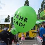 Grünes Fahrrad-Fest am Mauerpark